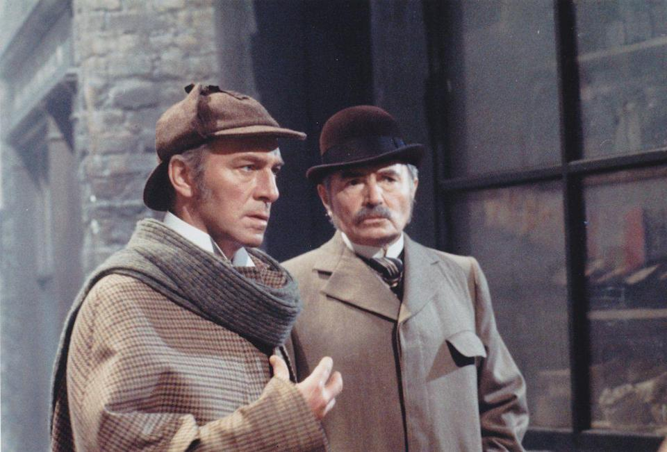 """<p>The oldest movie/show on our list is <em>Murder by Decree, </em>the 1987 Bob Clark film that features Christopher Plummer—the Academy Award winner audiences probably know best from <em>The Sound of Music </em>or <em>Knives Out </em>as of now—as the legendary detective investigating the mystery of Jack the Ripper. Plummer had previously played Holmes in the 1977 movie <em>Silver Blaze.</em> It's a fun mystery, and Plummer had said that he wanted his version of Holmes to be a more caring, compassionate person—and it's clear that he's having a blast as the sleuth. </p><p><a class=""""link rapid-noclick-resp"""" href=""""https://www.amazon.com/Murder-Decree-Anthony-Quayle/dp/B01I46LKKK?tag=syn-yahoo-20&ascsubtag=%5Bartid%7C2139.g.34124365%5Bsrc%7Cyahoo-us"""" rel=""""nofollow noopener"""" target=""""_blank"""" data-ylk=""""slk:Stream Murder By Decree Here"""">Stream <em>Murder By Decree </em>Here</a></p>"""