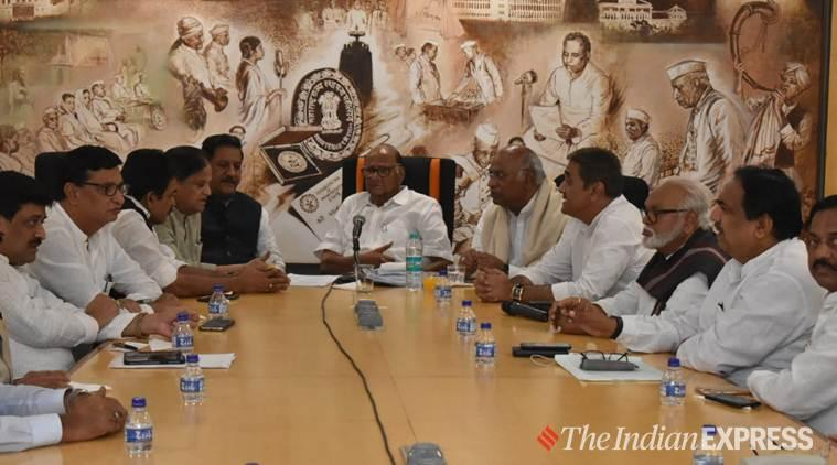 The NCP and Congress are having a meeting. (Express photo)
