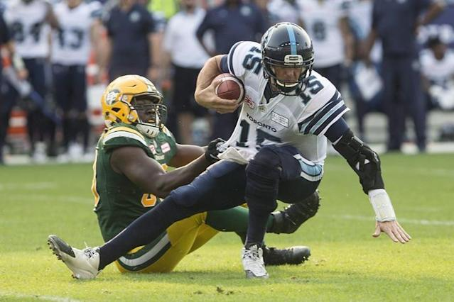 "Canadian defensive lineman Kwaku Boateng signed a contract extension through the 2020 season with the Edmonton Eskimos on Friday. Boateng was scheduled to become a free agent Feb. 12. The six-foot-two, 257-pound Boateng made 16 starts last season, registering 26 tackles and nine sacks. Boateng, 23, a native of Ghana who grew up in Milton, Ont., is entering his third season with the Eskimos and has accumulated 48 tackles, 13 sacks and a forced fumble in 34 career CFL games. The Eskimos also signed Canadian linebacker Blair Smith through the 2020 season. The Mississauga, Ont., native appeared in 12 games last season, registering seven tackles, 13 special-teams tackles and an interception. TICATS EXTEND DUO The Hamilton Tiger-Cats have re-signed American defensive tackle Nikita Whitlock and Canadian defensive tackle Justin Vaughn. Whitlock's deal is for two years, while Vaughn's is for one. Whitlock has appeared in 28 games for the Ticats over the past two seasons, registering 33 defensive tackles, 18 special teams tackles, six sacks and one forced fumble Vaughn, a Hamilton native, has played in 24 games for the Ticats over the past two years, recording 15 defensive tackles and two sacks. BOMBERS ADD TWO The Winnipeg Blue Bombers have signed running back Jalen Simmons and defensive back Mykkele Thompson, both Americans. Simmons ran for 2,618 yards and 17 TDs in 44 career games at South Carolina State. In 2016, he signed with the Carolina Panthers as an undrafted free agent and has also spent time with the San Diego Chargers, New York Giants and Arizona Cardinals. Thompson was a 2015 fifth-round pick of the Giants following his collegiate career at Texas. He also spent time with the New Orleans Saints. WILLIAMS BACK WITH STAMPS The Calgary Stampeders have re-signed starting centre Ucambre Williams. Since signing with the Stamps in 2016, Williams has appeared in 36 regular-season games and five playoff contests. The American was part of an offensive line that tied for fewest sacks allowed in the CFL last season. ""Ucambre has been one of the cornerstones of our offensive line over the past two seasons and I'm pleased he has chosen to remain in Calgary,"" Stampeders president and general manager John Hufnagel said in a statement. ""His reliability has been an important part of our success on offence and his versatility allows him to be a candidate to start at centre or tackle."" REDBLACKS RE-SIGN PAIR The Ottawa Redblacks signed Canadian offensive lineman Jason Lauzon-Seguin and American defensive lineman Avery Ellis to contract extensions. Lauzon-Seguin's deal covers two years while Ellis's contract is for one season. The six-foot-four, 300-pound Lauzon-Seguin is entering his fourth season with Ottawa. The former Laval star has appeared in two Grey Cup games with the Redblacks, winning in 2016 as a rookie. Ellis appeared in nine games last season, registering 15 tackles, three sacks and a forced fumble. He had 28 tackles and six sacks as a rookie in 2017. ARGOS MAKE DEALS WITH TWO The Toronto Argonauts have re-signed international defensive back Abdul Kanneh and Canadian offensive lineman DJ Sackey. Toronto acquired Kanneh last off-season in a deal with the Hamilton Tiger-Cats. He was limited to eight games because of injury. Kanneh was a CFL all-star with Ottawa in 2015 and 2016. Sackey was the Argos' second-round pick in the 2016 draft out of the University of Toronto. The Mississauga, Ont., native played in six games in 2016 and two last year. The Canadian Press"
