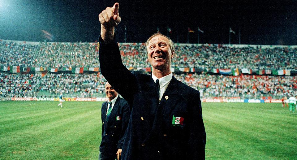 Footballer Jack Charlton died aged 85 in July after suffering from lymphoma and dementia. He was part of England's winning 1966 World Cup team alongside his brother Bobby and went on to manage the Republic of Ireland. (Photo By Ray McManus/Sportsfile via Getty Images)