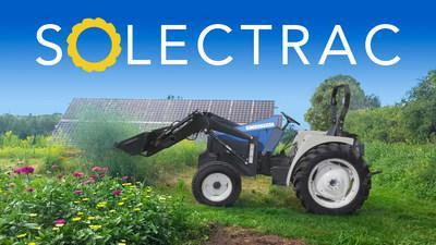 Quiet zero emission power in the field - The eUtility tractor can be charged from renewable energy or the electrical grid.