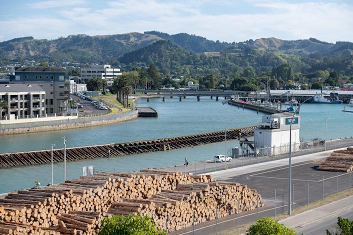 The earthquake struck off the city of Gisborne on North Island (Getty Images)