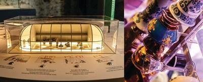 The exhibition features 150 artefacts. From its earliest human occupation—traces of which date back 4,500 years—the Pointe-à-Callière site has abounded with treasures that reveal it to have been a crossroads of trade between different nations. (CNW Group/Pointe-à-Callière, Montreal Museum of Archaelogy and History)