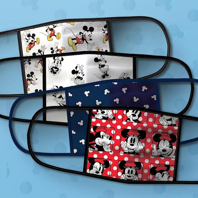 Mickey and Minnie Mouse Cloth Face Masks (Photo: Disney Parks, Experiences and Products)