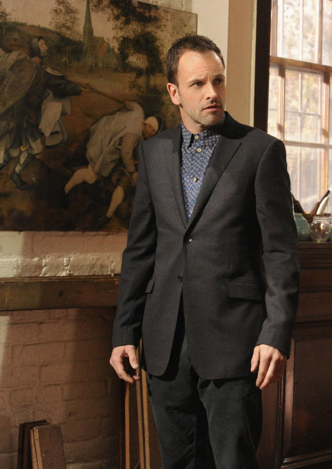 """""""The Woman"""" - As Sherlock (Jonny Lee Miller) reels at the reappearance of his former lover, Irene Adler, a series of flashbacks unravel the tumultuous events that led to his downfall into addiction, on the two hour, first season finale of """"Elementary."""""""