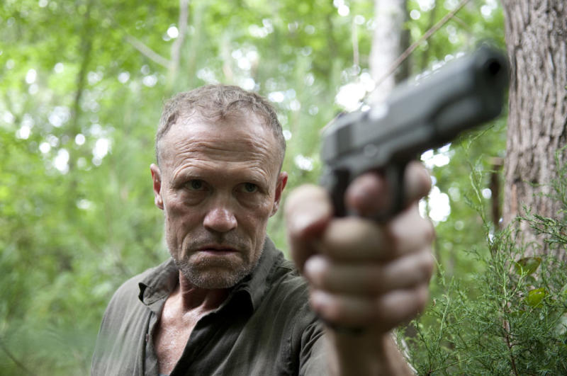 "Merle Dixon (Michael Rooker) in ""The Walking Dead"" episode, ""Hounded."""