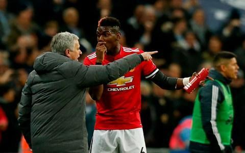 """Jose Mourinho moved to take the pressure off Paul Pogba's shoulders by arguing his record signing was under no bigger obligation than any other player to produce a match-winning performance in Wednesday night's Champions League round of 16 first leg at Sevilla. Pogba took part in full training at Carrington on Tuesday morning after missing the FA Cup win over Huddersfield with an illness and Mourinho was careful to avoid getting into any meaningful discussion over the midfielder's sliding form before the team flew out to Spain . It has been a month and a day since Pogba played a full game for his club and he was hauled off by Mourinho just after the hour mark in the defeats by Tottenham Hotspur and Newcastle United and left out of the starting line-up for the league win over Huddersfield. Earlier in the day Sevilla's Italian coach Vincenzo Montella sang the praises of Pogba, who he watched closely when he was a marauding box-to-box midfielder for Juventus, calling him """"a complete player"""" and happily admitting he would like him to miss this game too. Pogba's recent form could hardly be further removed from those exhilarating displays he regularly delivered in Serie A which compelled United to pay a then record £89.1 million to bring him back to Manchester, but Mourinho denied the onus was on the Frenchman against Sevilla. Mourinho asks for more from Pogba during the defeat by Tottenham Credit: IAN KINGTON/AFP/Getty Images """"I don't think it's fair to speak about responsibilities of one player, we don't like the fact that a player who cost X million doesn't have same responsibility that has cost three times X. I don't like that kind of approach,"""" Mourinho said. """"When I decide which team to play I don't look at a player's age, salary or transfer fee. I think that's not fair."""" The only player who will rival Pogba for attention here is Alexis Sánchez, who Montella said was such a threat his side might consider tying up the Chilean with rope in order to stop him. Mourinho """