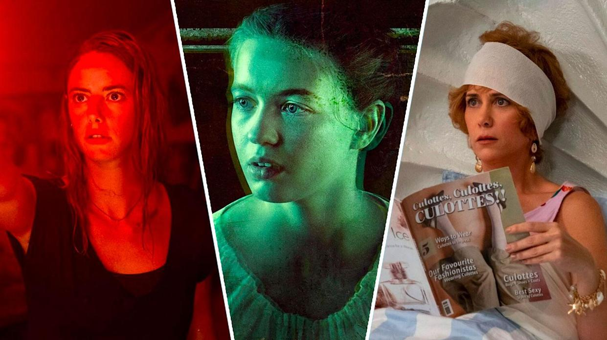 Crawl, Fear Street, and Barb and Star are all new on streaming this weekend (Paramount/Lionsgate/Netflix)
