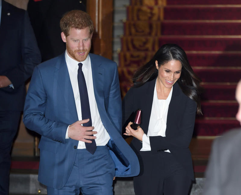 "Report: Meghan Markle ""banned"" from wearing a tuxedo by Prince Harry on her trip to Australia"
