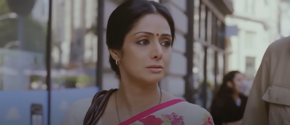 A scene from the film, English Vinglish