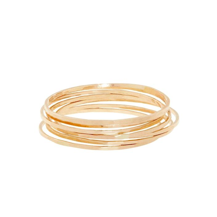 catbird threadbare yellow gold ring, gifts for her