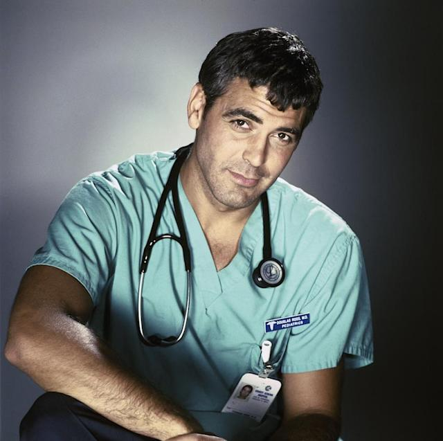 George Clooney was just as dreamy in his ER days. (Photo: Getty Images)