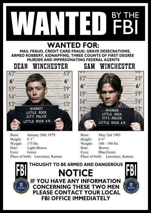 <p>The superfan in your life will obsess over this <span>FBI Wanted Poster</span> ($14, originally $18). They can hang it on their wall and embrace their inner hunter. </p>