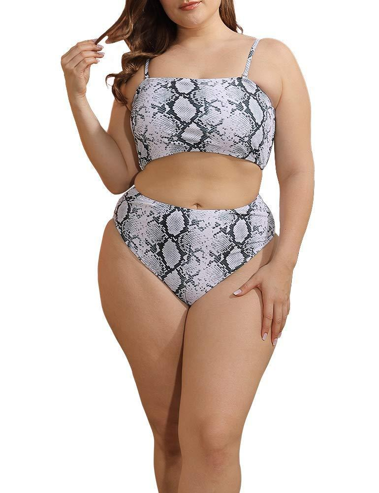 """<h2>Allegrace Snake Print Convertible Bikini</h2><br>Fashioned with convertible straps, you can transform this bikini into a bandeau-style suit. Plus, we're loving the white snake print as a cool and unexpected neutral. <br><br><strong>Hype:</strong> 4.2 out of 5 stars and 75 reviews<br><br><strong>Reviewers Say:</strong> """"Got this in a 3x. Fits great! I'm 5'10, my bra size is typically 40ddd, and pants are usually between 16-18w. Love this suit!""""<br><br><em>Shop <strong><a href=""""https://www.amazon.com/Allegrace-Swimsuit-Spaghetti-Swimsuits-Snakeskin/dp/B08C9SNGHQ/ref=pd_di_sccai_8"""" rel=""""nofollow noopener"""" target=""""_blank"""" data-ylk=""""slk:Amazon"""" class=""""link rapid-noclick-resp"""">Amazon</a></strong></em><br><br><strong>Allegrace</strong> Snake Print Convertible Bikini Set, $, available at <a href=""""https://www.amazon.com/Allegrace-Swimsuit-Spaghetti-Swimsuits-Snakeskin/dp/B08C9SNGHQ/ref=pd_di_sccai_8"""" rel=""""nofollow noopener"""" target=""""_blank"""" data-ylk=""""slk:Amazon"""" class=""""link rapid-noclick-resp"""">Amazon</a>"""