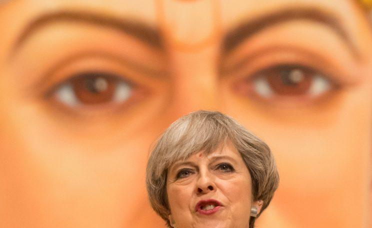 Theresa May's gamble backfired (Picture Getty)