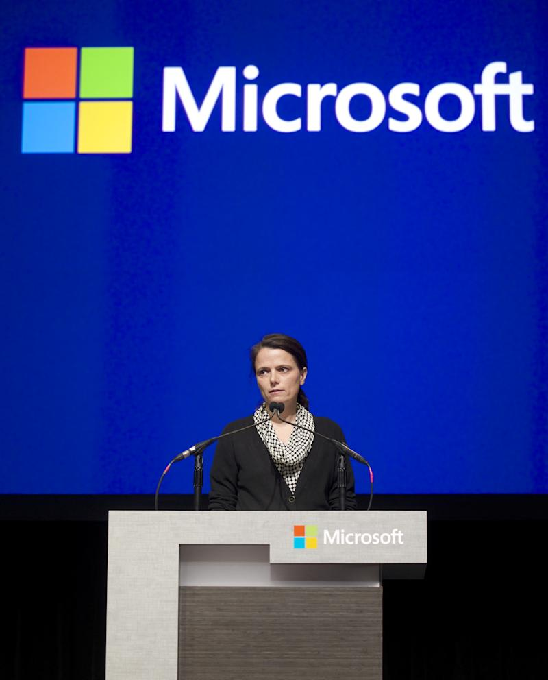 Microsoft Holds Annual Meeting