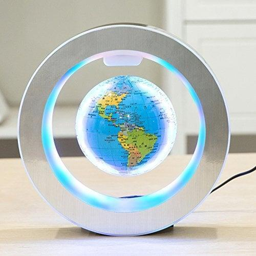 <p>Both adults and kids will find this <span>YANGHX Levitation Floating Globe</span> ($60) to be pretty cool.</p>