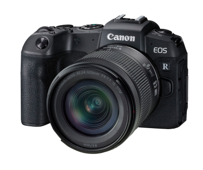Canon EOS RP Full-Frame Mirrorless Camera with 24-105mm IS STM Lens Kit (Photo via Best Buy Canada)