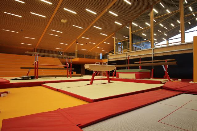 A Connecticut gymnast died after a serious injury late last week. (Getty Images)