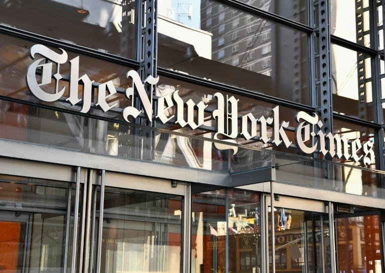 The headquarters of The New York Times (AFP Photo/ANGELA WEISS)