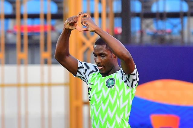 Nigeria forward Odion Ighalo. (Photo: GIUSEPPE CACACE/AFP via Getty Images)