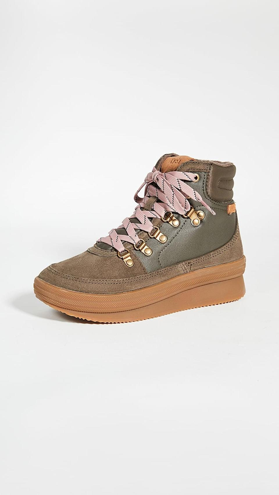 <p><span>Keds Midland Waxed Canvas Sneaker Boots</span> ($110)</p>