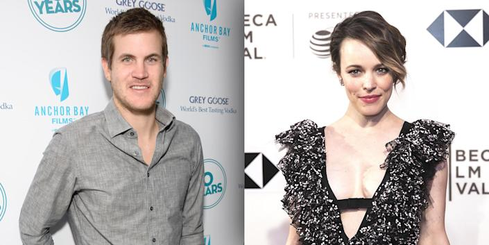 Screenwriter Jamie Linden and Rachel McAdams welcomed their first child together, a boy, in April 2018. (Getty Images)