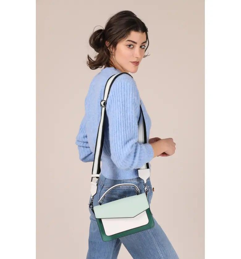 <p>All your friends will want to know where this <span>Botkier Cobble Hill Leather Crossbody Bag</span> ($198) is from.</p>