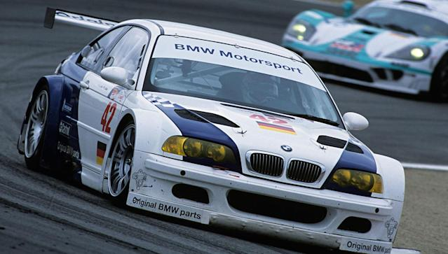 "<p>The straight-six in the <a href=""http://www.roadandtrack.com/car-culture/advice/a27775/bmw-e46-m3-history-video/"" rel=""nofollow noopener"" target=""_blank"" data-ylk=""slk:E46-generation BMW M3"" class=""link rapid-noclick-resp"">E46-generation BMW M3</a> might be a masterpiece, but it wasn't quite good enough for the American Le Mans Series (ALMS). BMW's solution was to drop in a 500-hp V8, build a small handful of road cars to satisfy homologation requirements, and demolish the competition. When ALMS changed the homologation requirement to 100 road cars in 2002, BMW killed the mighty GTR.</p>"
