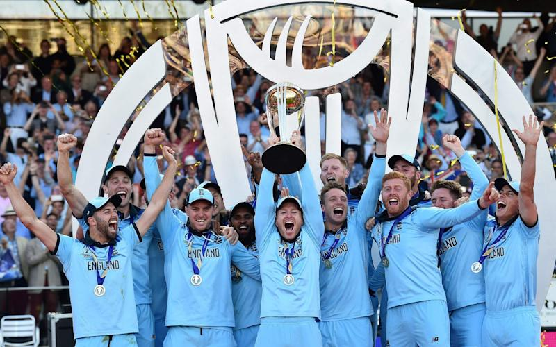 Telegraph readers shared their reactions to England's Cricket World Cup victory - AFP