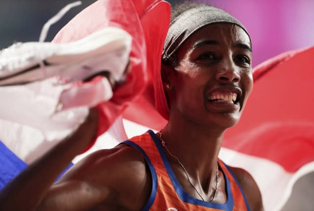 Sifan Hassan, coached by Alberto Salazar, picked up two golds (Nariman El-Mofty/AP)