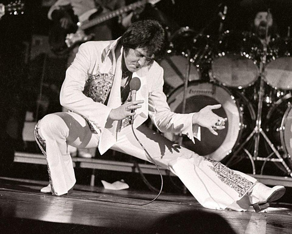 <p>The King's last concert was in June 1977. Presley performed for a crowd in Indianapolis, Indiana, after which he went home to Graceland ahead of his next tour.</p>