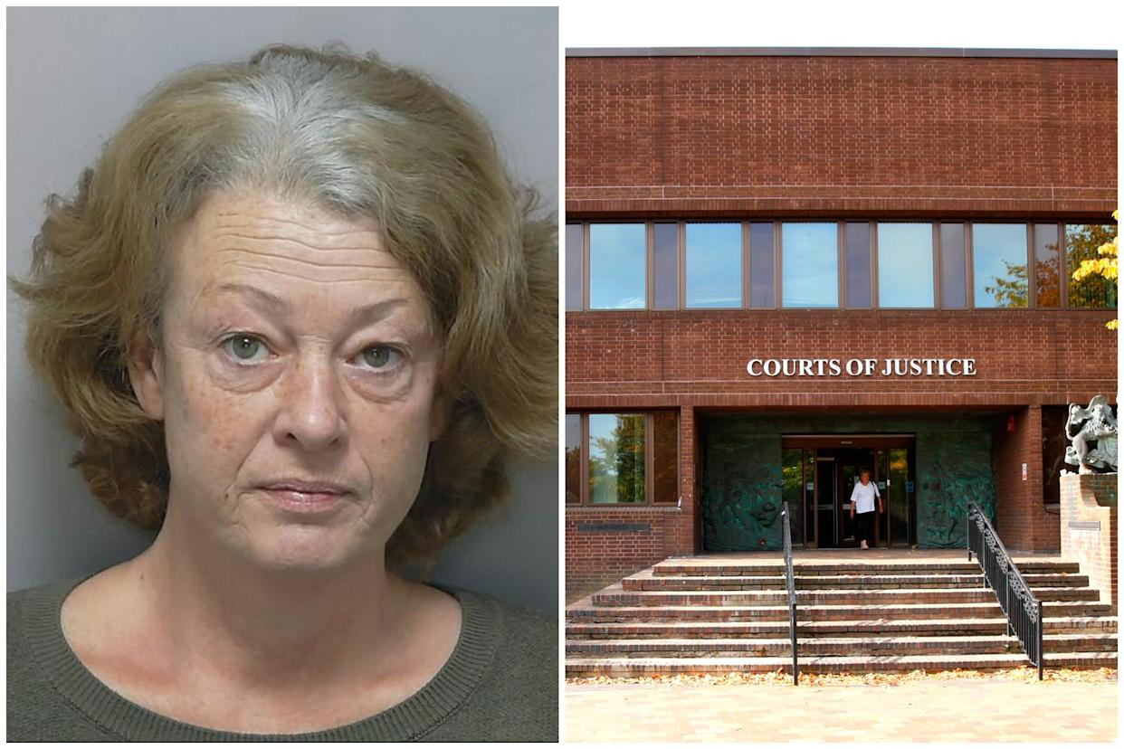 Louise Hathaway was jailed for 30 months at Portsmouth Crown Court after making hundreds of 999 calls. (Hampshire Police/PA)
