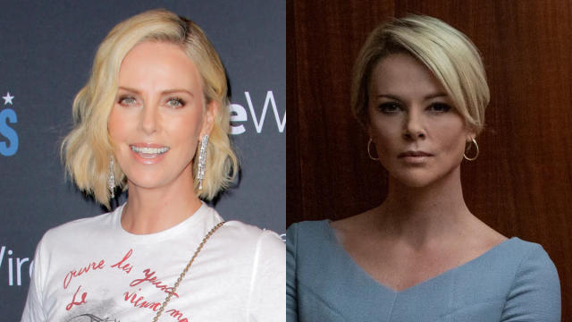 More than a decade after completing one of the most ambitious transformations ever for <em>Monster</em>, Theron has changed herself completely once again for Fox News real-life drama <em>Bombshell</em>. (Credit: Tibrina Hobson/WireImage/Lionsgate)
