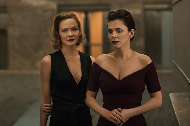 Louisa Krause as Anna and Anna Friel as Erica in <i>The Girlfriend Experience.</i>