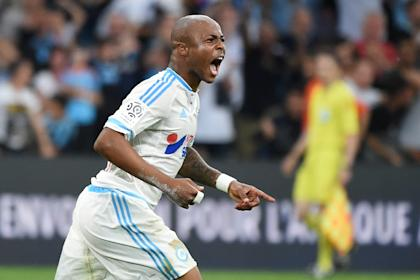 Ayew scored against Chelsea in his Premier League debut. (AFP Photo)