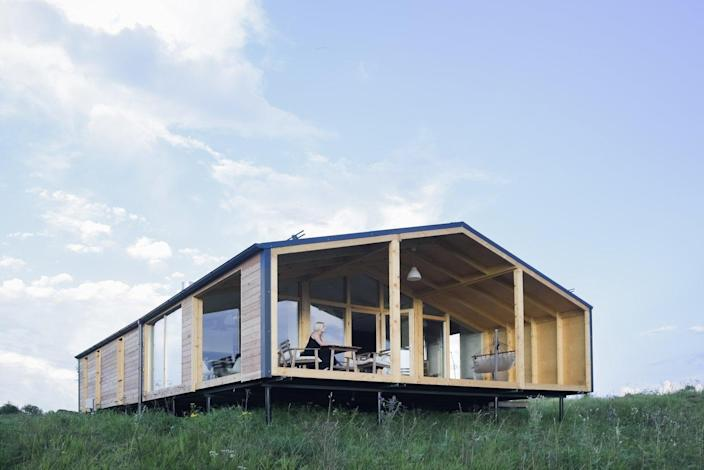 The prefab DublDom House from BIO Architects.