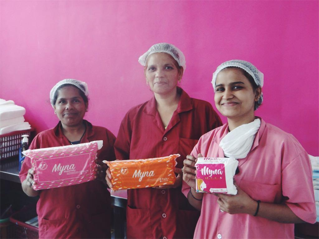 "<p>Myna Mahila is a women's charity based in Mumbai which employs women from urban slums to manufacture and sell affordable sanity products to women. These are then delievered to the doorsteps of mothers living in the slums, enabling them to help their daughters to stay in school.<br />Meghan went to visit the project in January 2017, and wrote about her experience for <a rel=""nofollow"" href=""http://time.com/4694568/meghan-markle-period-stigma/"">TIME Magazine</a>.<br />You can donate here at <a rel=""nofollow"" href=""https://www.globalgiving.org/projects/empower-women-mumbai-slums/"">Globalgiving.org</a>.<br /><em>Photo: Myna Mahila</em> </p>"