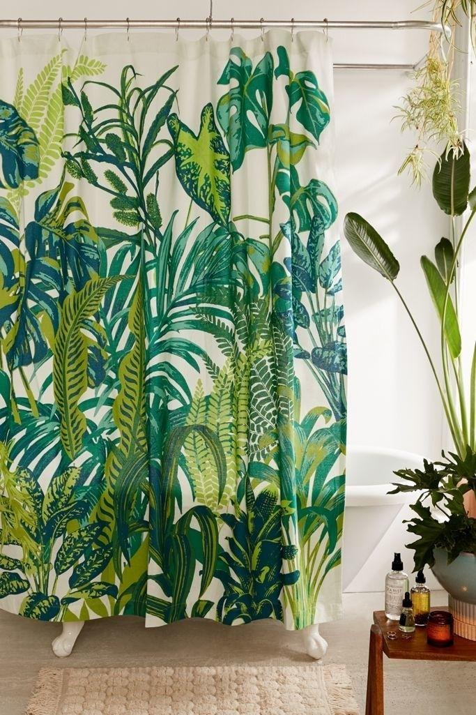 """Turn your blah bathroom into a tropical paradise every time your shower gets the humidity going with this fun curtain.<br /><br /><strong>Promising review:</strong> """"I bought this for my apartment, and it really makes my bathroom pop. I enjoy the vibrant colors and the quality of the curtain itself."""" — Urban Outfitters Customer<br /><br /><strong>Get it from Urban Outfitters for<a href=""""https://go.skimresources.com?id=38395X987171&xs=1&xcust=HPHomeMagazine-609acebfe4b099ba752f64c2-&url=https%3A%2F%2Fwww.urbanoutfitters.com%2Fshop%2Fdreamy-jungle-shower-curtain"""" target=""""_blank"""" rel=""""nofollow noopener noreferrer"""" data-skimlinks-tracking=""""5854435"""" data-vars-affiliate=""""Rakuten"""" data-vars-campaign=""""SHOPMagazineHomeMower2-2-2021--5854435-"""" data-vars-href=""""https://click.linksynergy.com/deeplink?id=yPKHhJU2qBg&mid=43176&murl=https%3A%2F%2Fwww.urbanoutfitters.com%2Fshop%2Fdreamy-jungle-shower-curtain%3Fcolor%3D030%26type%3DREGULAR%26size%3D72X72%26quantity%3D1&u1=SHOPMagazineHomeMower2-2-2021--5854435-"""" data-vars-keywords=""""cleaning"""" data-vars-link-id=""""16331335"""" data-vars-price="""""""" data-vars-product-id=""""20945799"""" data-vars-product-img=""""https://s7d5.scene7.com/is/image/UrbanOutfitters/43398973_030_b?$xlarge$&fit=constrain&qlt=80&wid=100"""" data-vars-product-title=""""Dreamy Jungle Shower Curtain"""" data-vars-redirecturl=""""https://www.urbanoutfitters.com/shop/dreamy-jungle-shower-curtain?color=030&type=REGULAR&size=72X72&quantity=1"""" data-vars-retailers=""""Urban Outfitters,urbanoutfitters"""" data-ml-dynamic=""""true"""" data-ml-dynamic-type=""""sl"""" data-orig-url=""""https://click.linksynergy.com/deeplink?id=yPKHhJU2qBg&mid=43176&murl=https%3A%2F%2Fwww.urbanoutfitters.com%2Fshop%2Fdreamy-jungle-shower-curtain%3Fcolor%3D030%26type%3DREGULAR%26size%3D72X72%26quantity%3D1&u1=SHOPMagazineHomeMower2-2-2021--5854435-"""" data-ml-id=""""3"""">$39</a>.</strong>"""