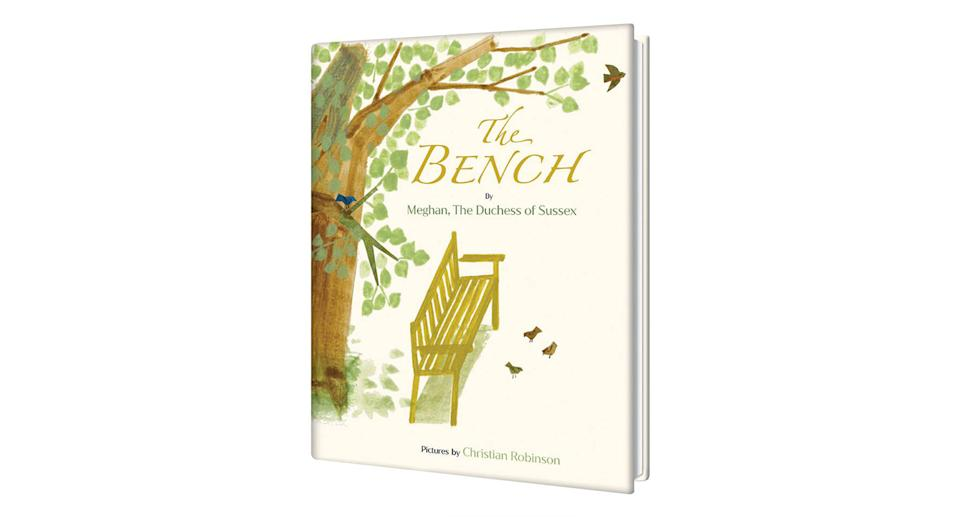 The front cover of Meghan Markle's book, The Bench