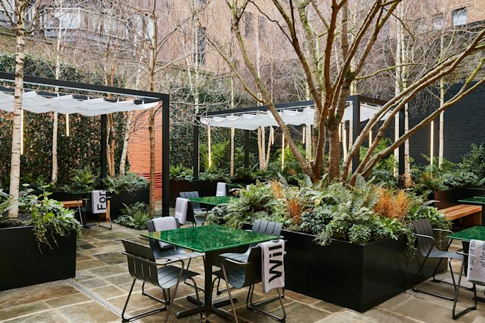 British food-focused Native was set to officially open this springNative at Browns Courtyard