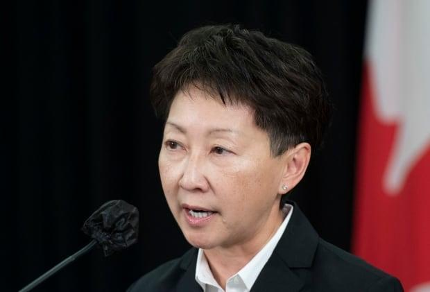 The decision to postpone scheduled surgeries throughout the province was not made lightly, said Dr. Verna Yiu, CEO of Alberta Health Services. (Chris Schwarz/Government of Alberta - image credit)