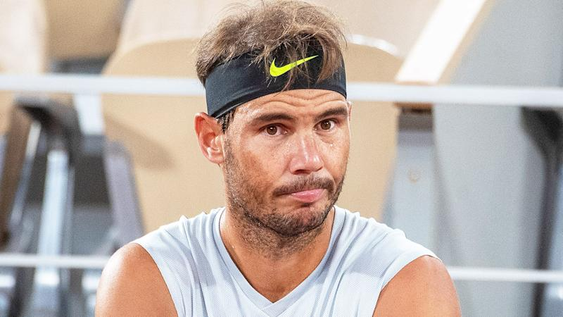 Rafa Nadal (pictured) has criticised the new tennis balls used at this year's French Open. (Getty Images)