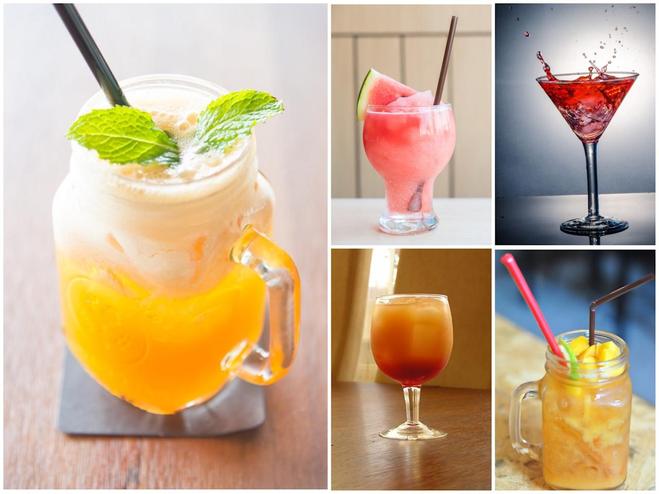 <p>Cool down with one of these deliciously light cocktails that make the most of what nature has to offer. </p>