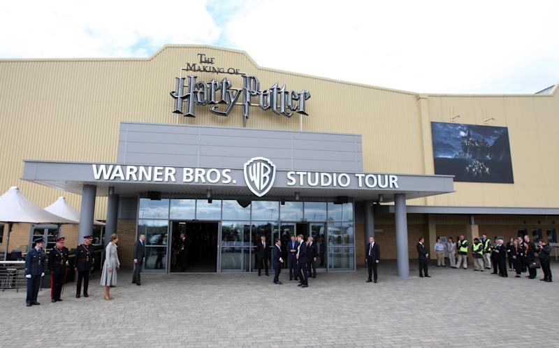 Firefighters put out blaze at Warner Bros studios