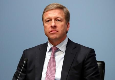 FILE PHOTO: Oliver Zipse, board member of German luxury carmaker BMW attends the company's annual news conference in Munich