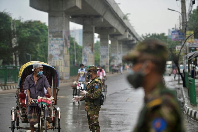 Bangladesh has imposed a strict coronavirus lockdown to contain an 'alarming' outbreak