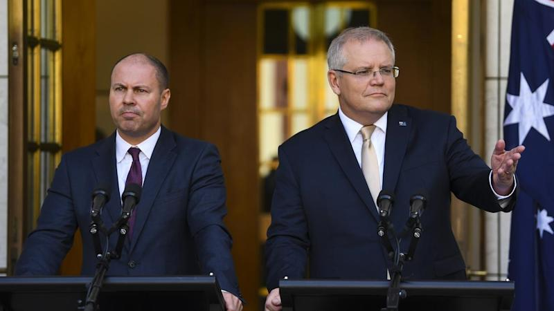 Scott Morrison said the stimulus was designed to avoid a ten-year federal budget hangover