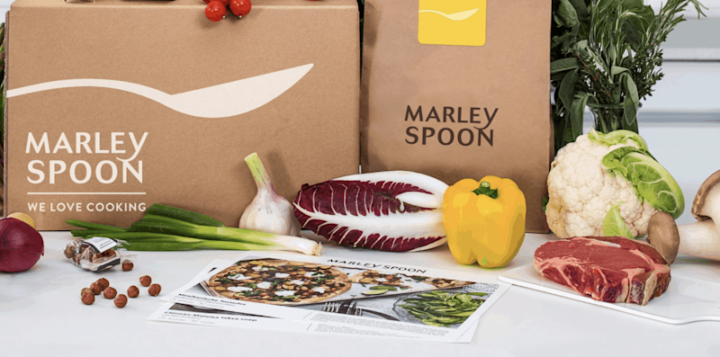 Marley Spoon share price
