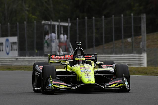 Herta on top before FP2 leader Bourdais crashes